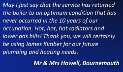 James Kimber - Plumbing, Heating & Gas Services